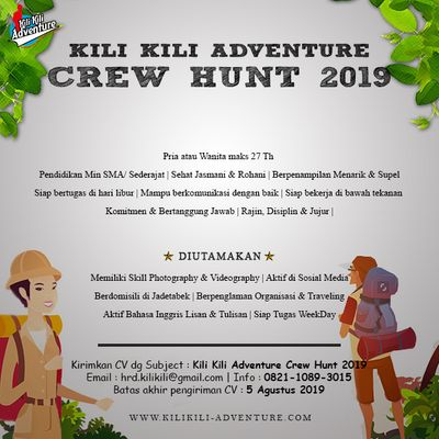 Kili Kili Adventure Outdoor Activities Organizer