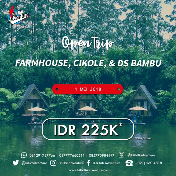 Farmhouse, Cikole, Dusun Bambu Part 6